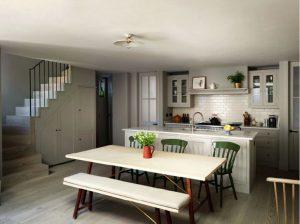 basement kitchens