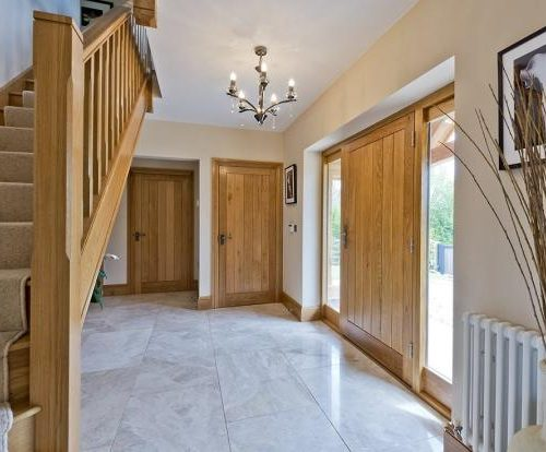 Hallway house build enhance construction developement warwickshire